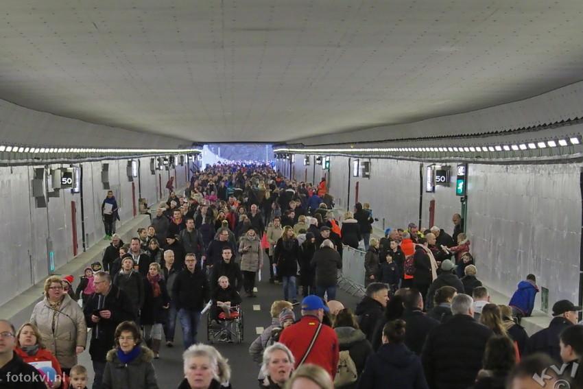 Velsertunnel, Velsen-Noord |  Publieksdag Velsertunnel |  FotoKvL / Ko van Leeuwen |  kvl_170108_1026220.orf / 08-1 -2017 10:26:22